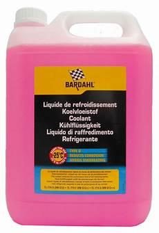Bardahl Type D Anti Freeze 5 Litre Vw Tl 774 D G12