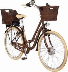 fischer fahrraeder e bike city 187 e retro1804 braun 171 28