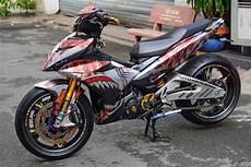 Modifikasi Motor Jupiter Mx King by Modifikasi Yamaha Jupiter Mx King 150 Pakai Headl Led