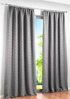 gardinen verdunkelung 2 st vorhang 130 x 225 grau blickdicht verdunkelung store