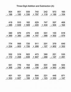 free division worksheets year 3 6898 3 digit addition and subtraction with images subtraction worksheets addition and