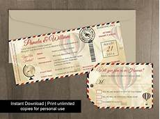 diy printable wedding boarding pass luggage tag template 2450328 weddbook