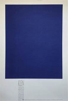 Yves Klein Monochrome Bleu Ikb 3 Print For Sale At