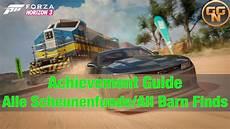 Achievement Guide Forza Horizon 3 Alle Scheunenfunde