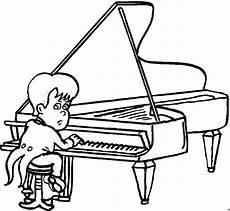 kleiner pianist ausmalbild malvorlage musik