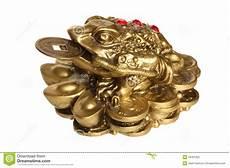Feng Shui Geldfrosch Stockbild Bild Sparungen