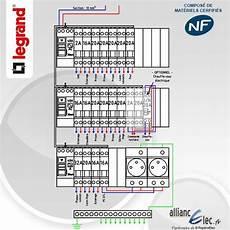 Tableau Electrique Pr 233 Cabl 233 Legrand Surface Entre 35 M2