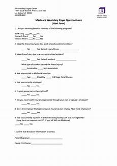 top 13 medicare secondary payer form templates free to download in pdf format