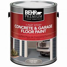 behr premium 1 gal 902 slate gray 1 part epoxy concrete and garage floor paint 90201 the