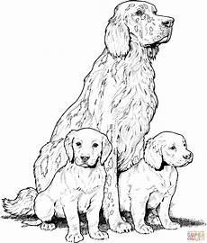 Ausmalbilder Hunde Welpen Ausmalbild Labrador Mit Welpen Ausmalbilder Kostenlos