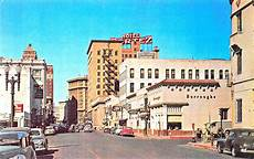 El Paso Tx Mills Looking West Store Fronts Cars