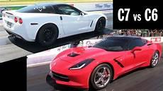 c7 vs c6 10 second corvettes great race
