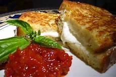 mozzarella carrozza mozzarella in carrozza with sun dried tomato and roasted