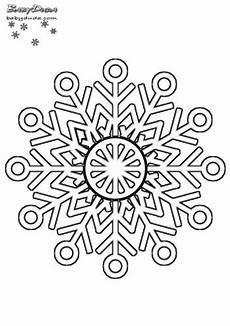 Ausmalbild Schneeflocken Mandala Winterbilder Mandala Schneeflocken Weihnachtsbaum
