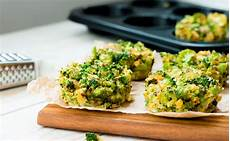 Low Carb Brokkoli Muffins At
