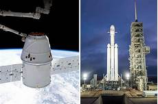 Spacex Falcon Heavy Launch Time Most Powerful Rocket In