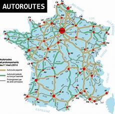 Carte De Des Autoroutes Arts Et Voyages