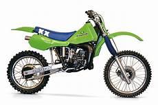 kawasaki kx125 classic dirt bike
