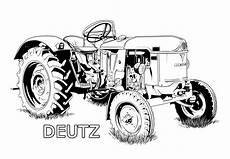 Deere Malvorlagen Pdf Ausmalbilder Traktor Deutz Basteln Ausmalen