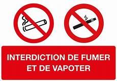 affiche défense de fumer loi vapotage information et journalistes carnets de vape