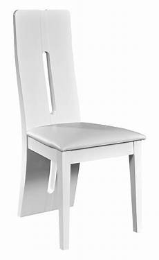 Chaise Electra Laque Blanche