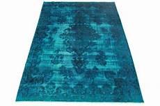 vintage teppich blau vintage teppich blau in 330x230cm 1001 3229 bei