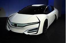 2019 honda fcev honda fcev is the hydrogen powered spaceship we ll be