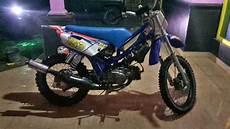 Modifikasi Motor Fiz R Jadi Trail by Modifikasi Yamaha Fizr Jadi Trail Gtx Motorganas