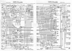 Chrysler 300 New Yorker 1972 Complete Electrical Wiring