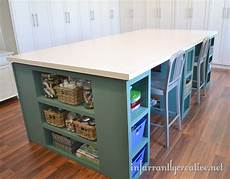 large craft table craft room tables craft tables with