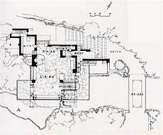 frank lloyd wright waterfall house plans frank lloyd wright waterfall house floor plans home design