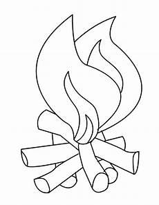 feu dessin coloriage feu facile dessin gratuit 224 imprimer