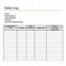 daily log sheet free 15 sle daily log templates in pdf doc