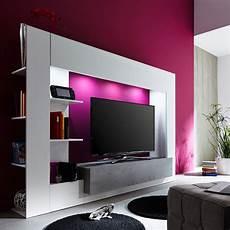 wohnwand viel stauraum die moderne tv wohnwand harry bietet viel stauraum f 252 r