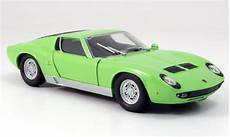 lamborghini miura p400 s grun motormax modellauto 1 24