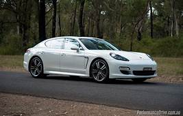 Porsche Panamera Diesel Review  Quick Test Video