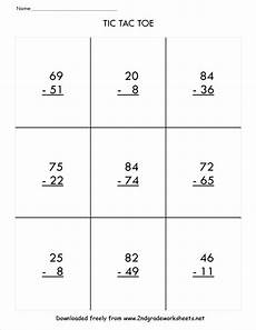 subtraction with and without regrouping worksheets for grade 3 10371 two digit subtraction worksheets