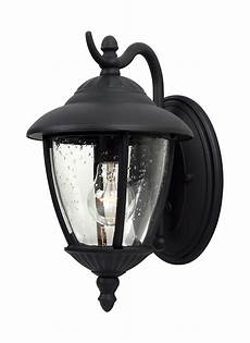 84069 12 one light outdoor wall lantern black
