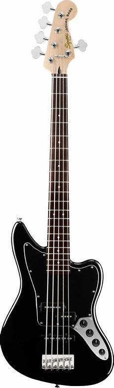 Squier Vintage Modified Jaguar Bass V Special Black Keymusic