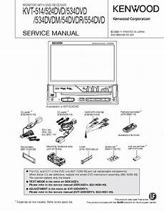 kenwood kvt 514 524dvd 534dvd 534dvdm 54dvdr 554dvd service manual download schematics eeprom