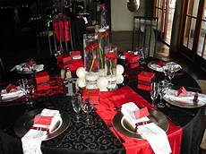 black red silver wedding black red white silver