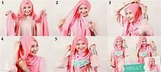 Cara Memakai Jilbab Segi Empat Simpel Dan Anggun