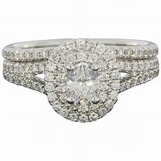 bespoke wedfit diamond wedding ring and engagement ring combination for sale at 1stdibs