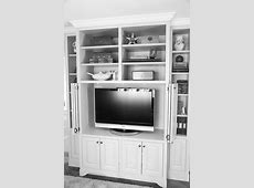 Bookcase   open   Built in tv cabinet, Built in tv wall