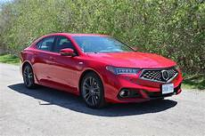 car review 2019 acura tlx driving