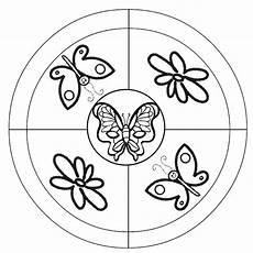 Ausmalbild Schmetterling Mandala Ausmalbilder Mandala Schmetterling 07 With Images Rovarok