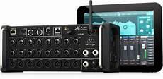 behringer xr18 air behringer x air xr18 digital mixer audio visual specialists