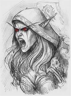 Elfen Malvorlagen Characters 26 Besten World Of Warcraft Malvorlagen Bilder Auf
