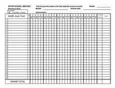 blank attendance sheets class attendance sheets get as excel french teaching pinterest