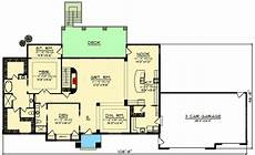 sprawling ranch house plans sprawling craftsman style ranch house plan on walkout